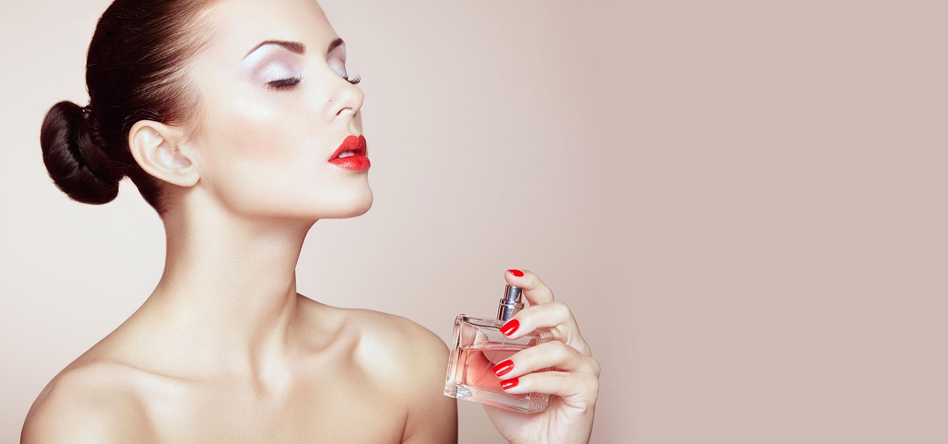 parfum pour une femme chic